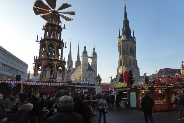 Halle: Weihnachtsmarkt